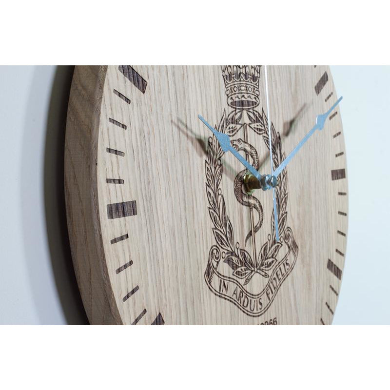 Oak Clock Detail 5