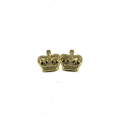 3/8 Gold Metal Crowns