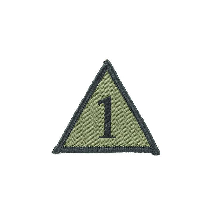 TRF - 1 Armoured Infantry Brigade Subdued - 50mm edges - Pack of 5