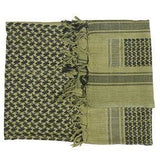 Shemagh Green / Black Scarf