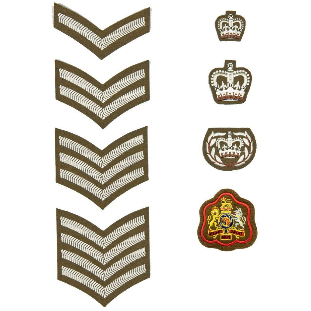 Army No2 Dress Rank Insignia
