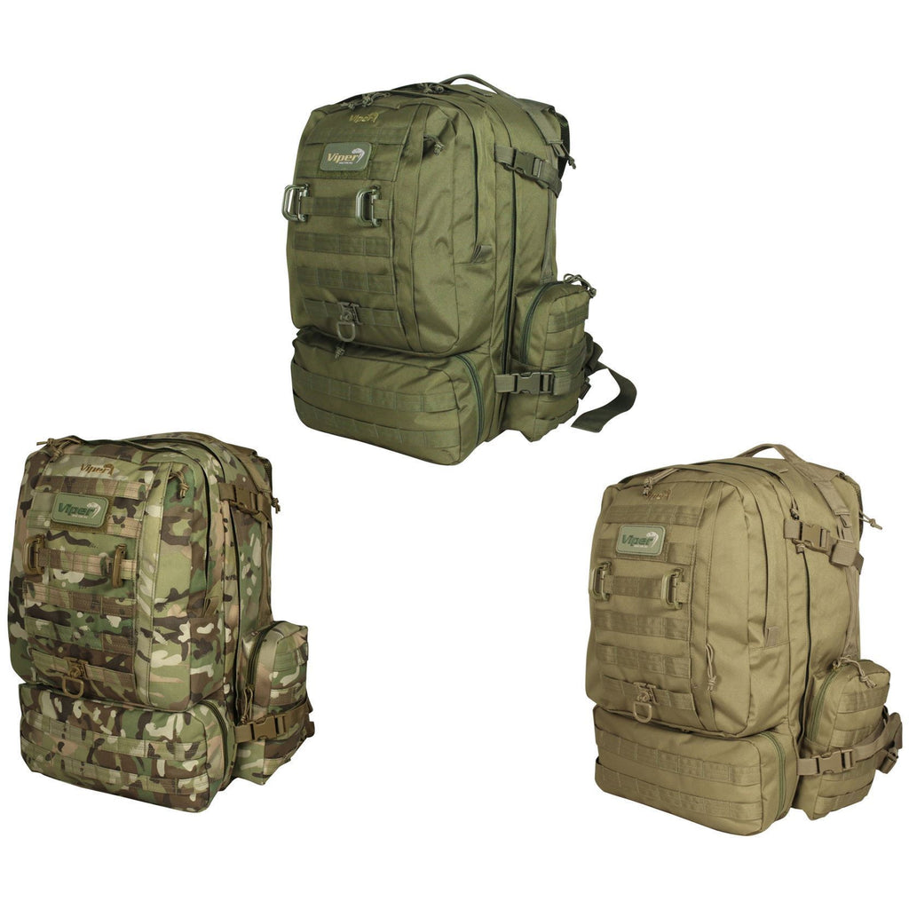 38.5lt Mission Pack Olive