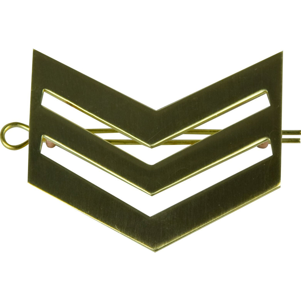 British Army Brass Chevron Sgt