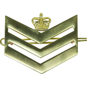 British Army Brass Chevron S/Sgt