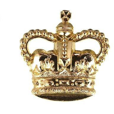 British Army WO2 Brass Crown