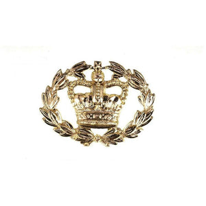 British Army RQMS Brass Crown