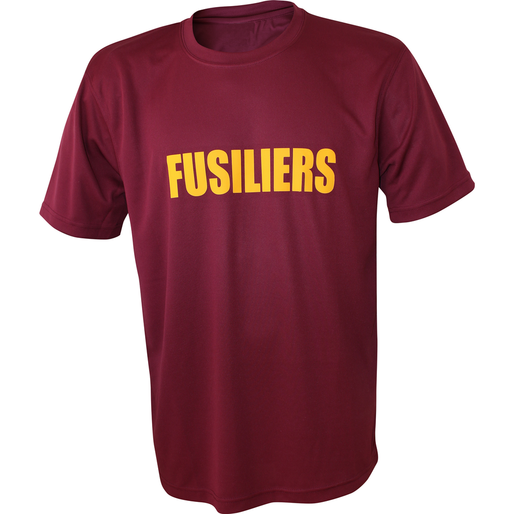 Performance PT T-Shirt 'FUSILIERS' - Rose and Primrose