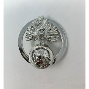 Fusiliers Ladies Brooch - Sterling Silver .925 & Rhodium Plated