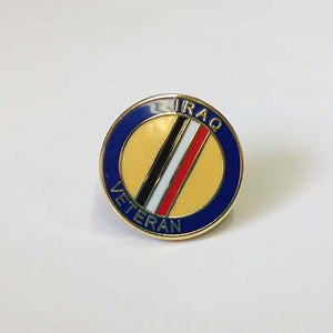 Veterans Iraq Lapel Pin