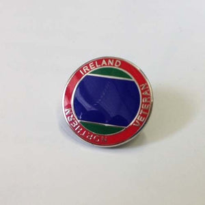 Veterans Northern Ireland Lapel Pin