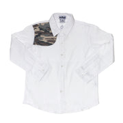 Men's White & WestTX Camo Long Sleeve Shirt