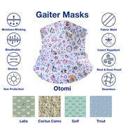 Kids Gaiter Masks- Youth