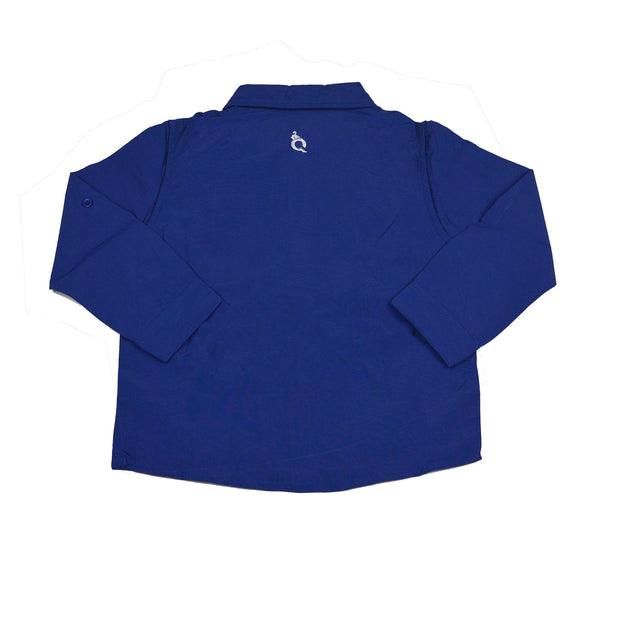 *Navy Blue Long Sleeve Shirt
