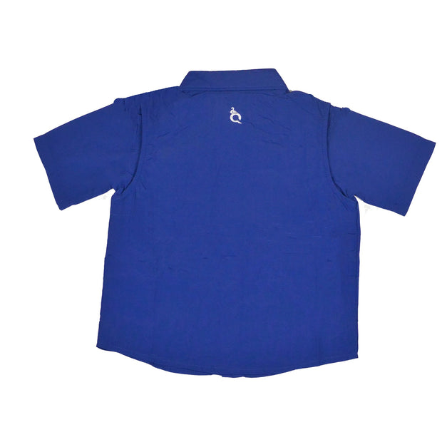 BlueQuail Blue Short Sleeve Shirt