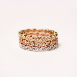 THIN PAVÉ BAND