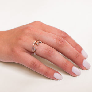 DIAMOND CHANEDLIER RING
