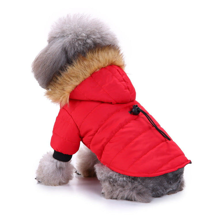 Reflective Cotton Dog Winter Coat - Faciipet