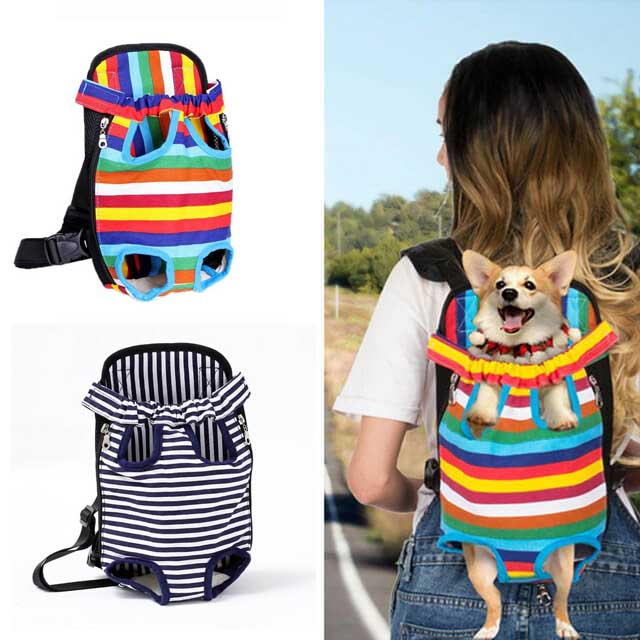 Breathable Mesh Camouflage Small Dog Carrier Backpack - Faciipet
