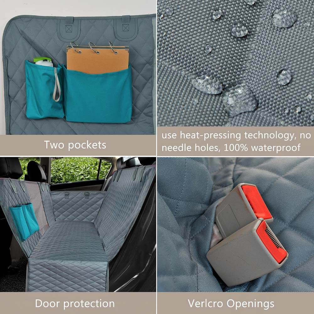 Car Pet Seat Covers Waterproof Back Bench - Faciipet
