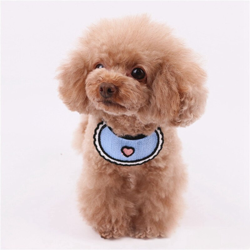Cute Adjustable Washable Pet Saliva Towel Scarves Collar - Faciipet
