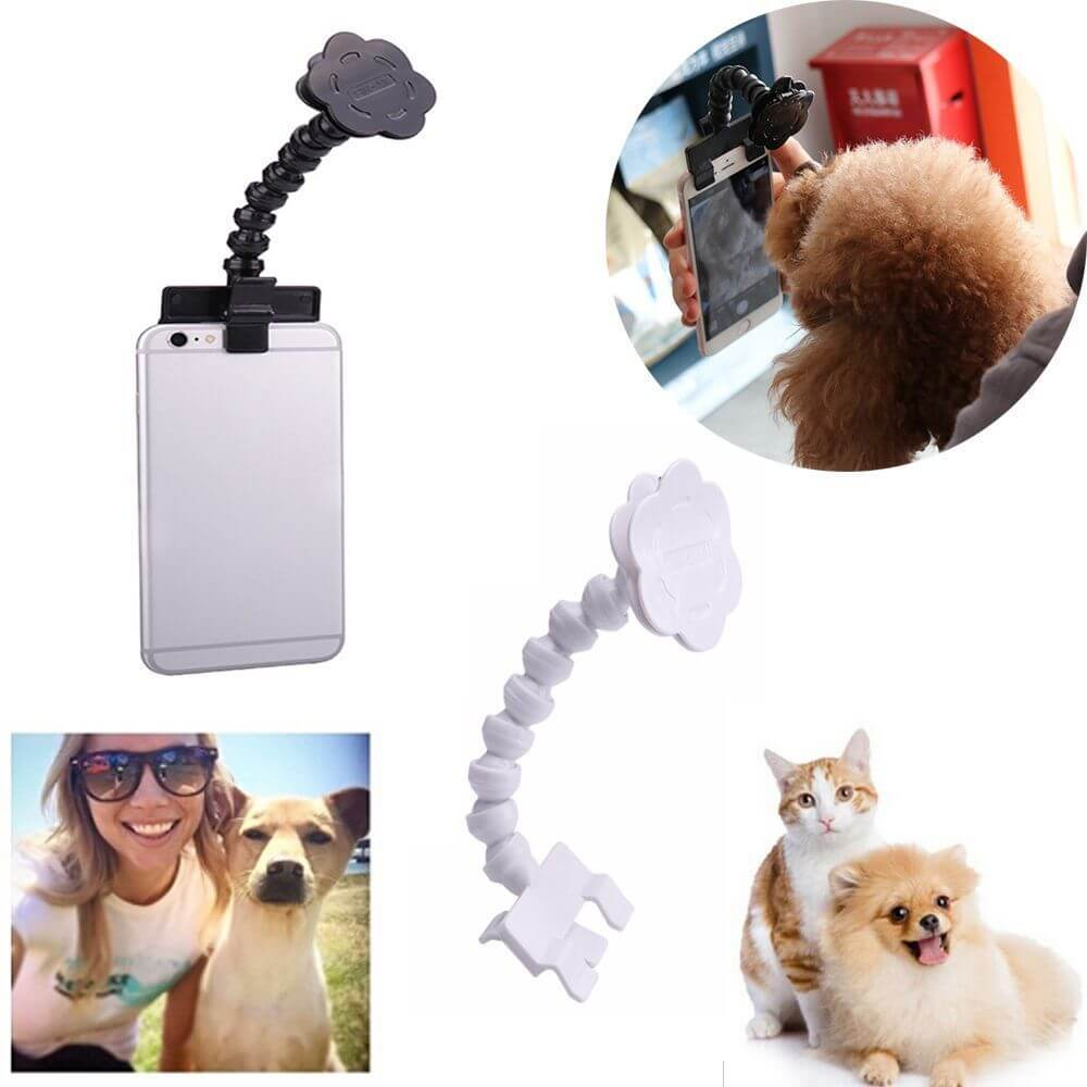 Smartphone Attachment Selfie Stick For Pet - Faciipet