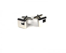 Load image into Gallery viewer, Black Stone Cufflinks