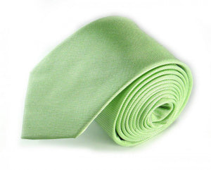 Green Woven Silk Tie by Focus Ties (The Poseidon - Premium High Quality Silk Business / Wedding Necktie)