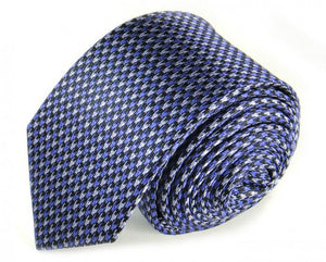 Purple Woven Silk Tie by Focus Ties (The Java - Premium High Quality Silk Business / Wedding Necktie)