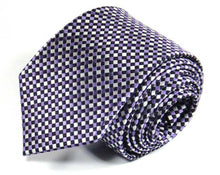 Load image into Gallery viewer, Pink Woven Silk Tie by Focus Ties (The Congo - Premium High Quality Silk Business / Wedding Necktie)