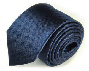 Blue Woven Silk Tie by Focus Ties (The Banda - Premium High Quality Silk Business / Wedding Necktie)