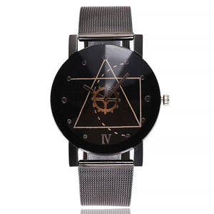Casual Quartz Stainless Steel Strap Watch