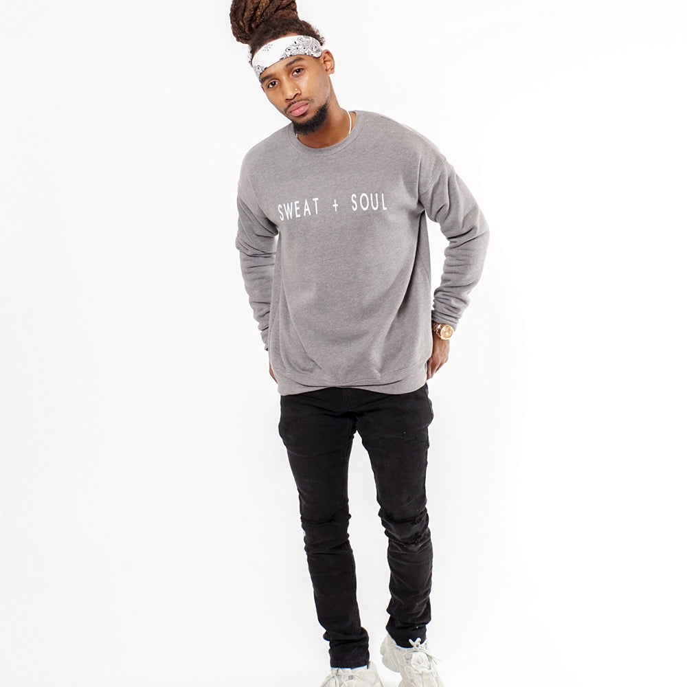 LUCKY YOU CREW NECK SWEATER
