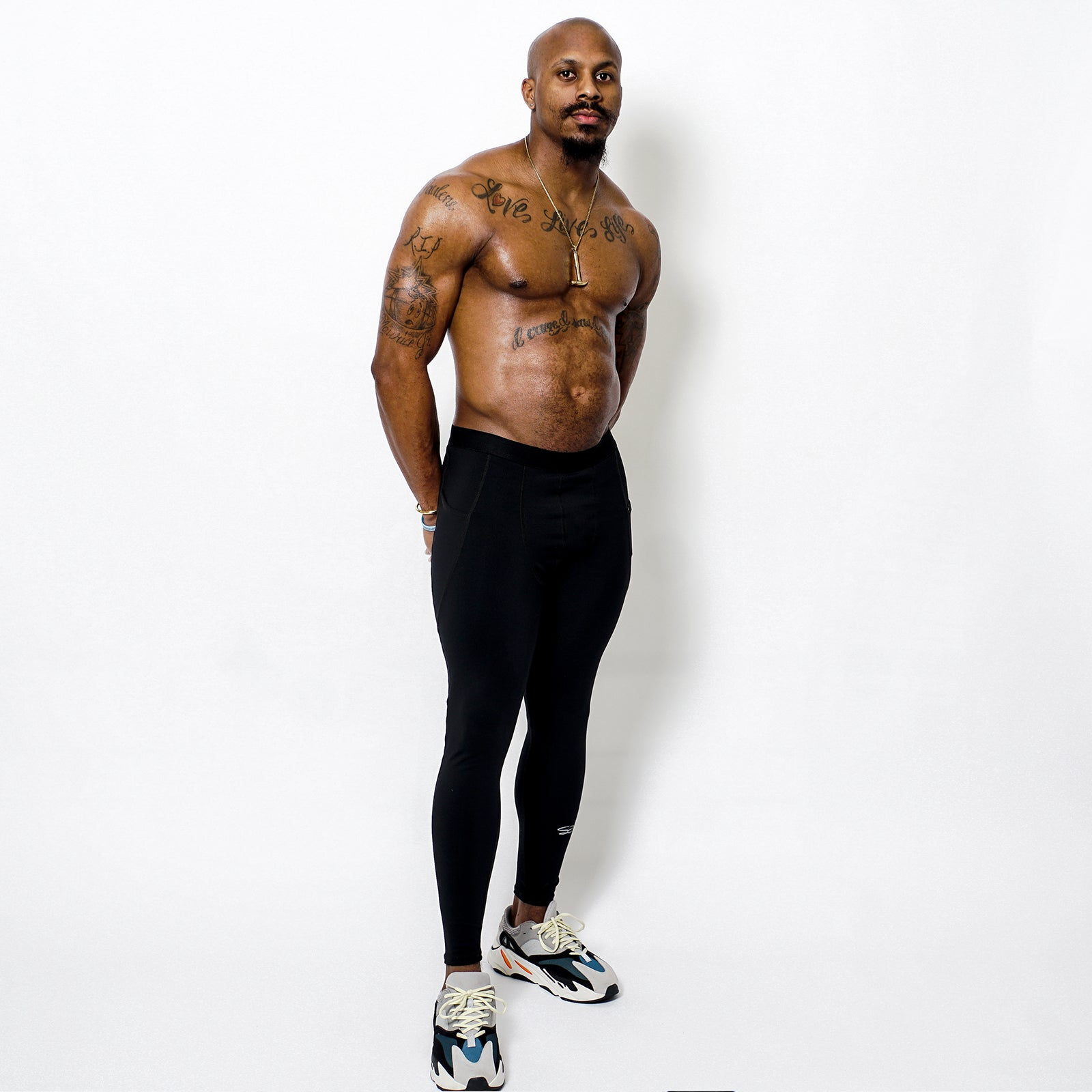 MALE POCKET COMPRESSION TIGHTS