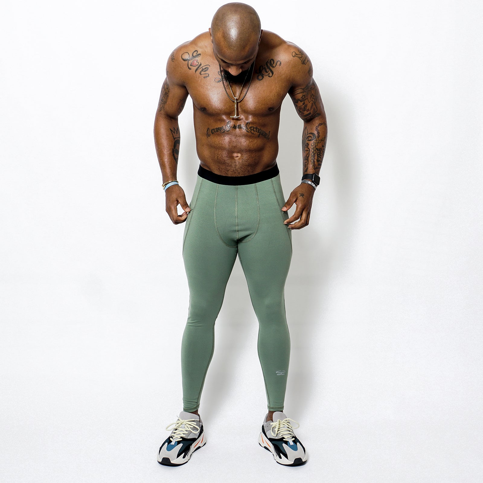 MENS POCKET COMPRESSION TIGHTS