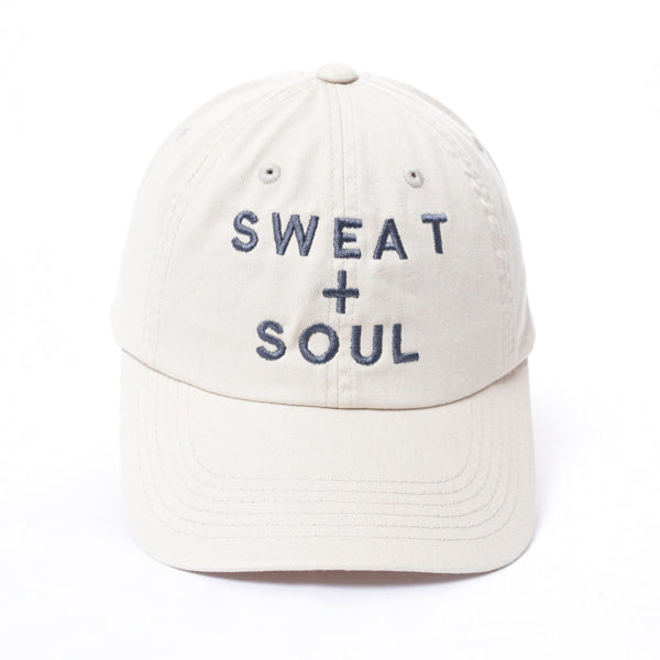 SWEAT+SOUL LOGO STACKED HAT