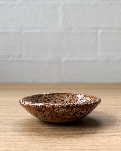 speckled tiny bowls