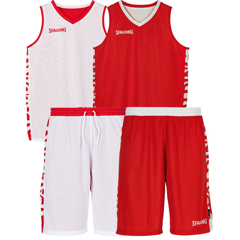 Teamwear - Spalding Essential Reversible Kit (v2019) - Red/White - SP-3002025-03-3005025-03