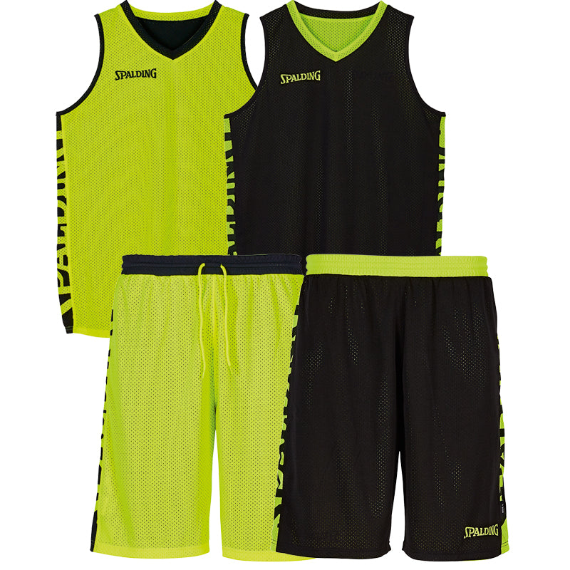 Teamwear - Spalding Essential Reversible Kit (v2019) - Black/Neon Yellow - SP-3002025-05-3005025-05