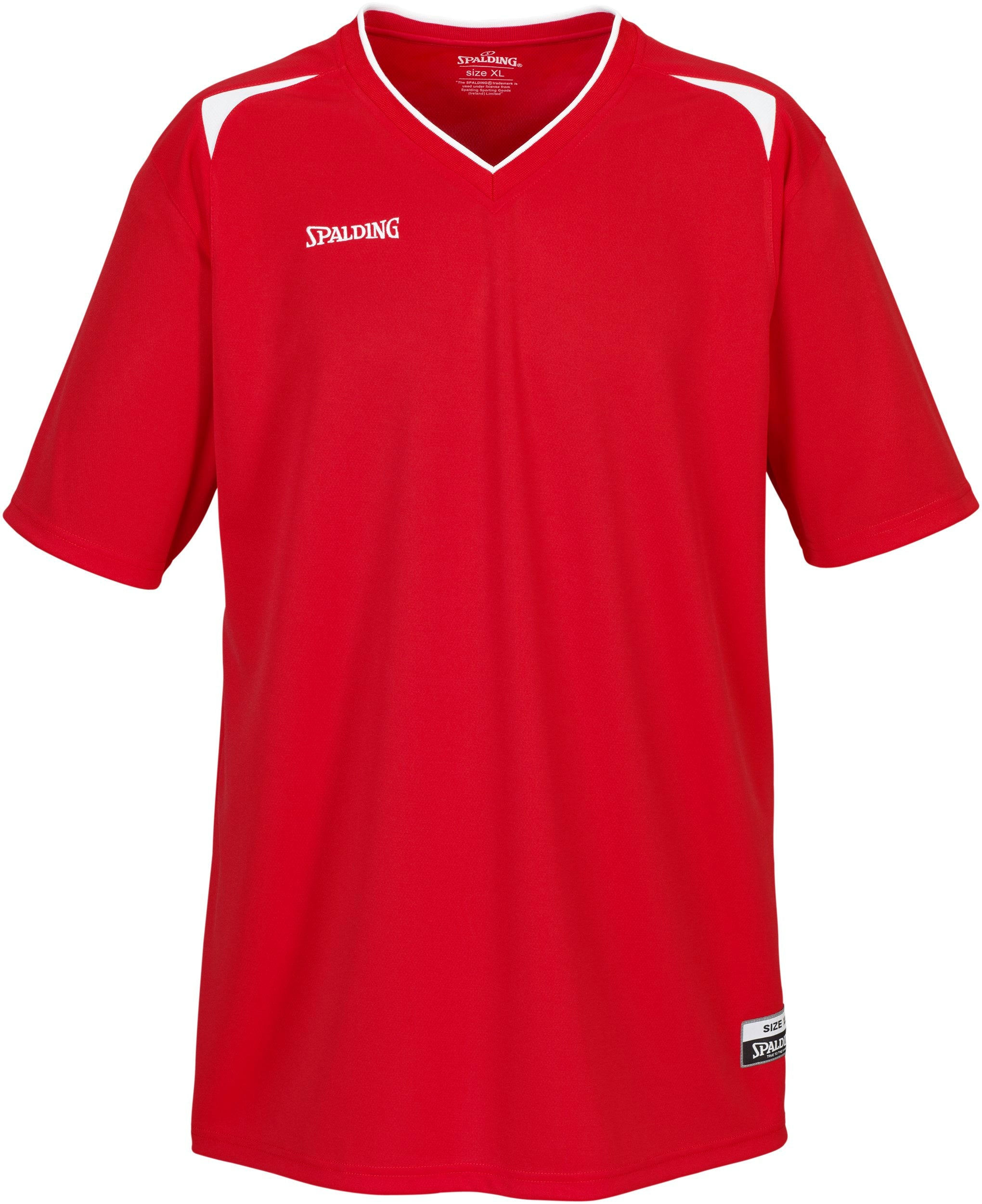 Spalding Basketball Attack Shooting Shirt - Red/White SP-300211601