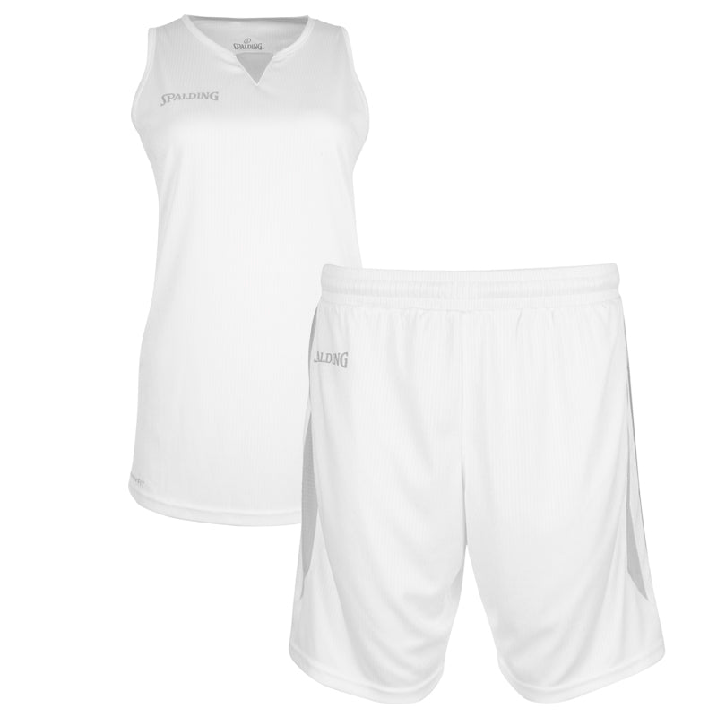 Teamwear - Spalding 4Her III Womens Kit - White/Silver Grey - SP-3002412-01-3005412-01