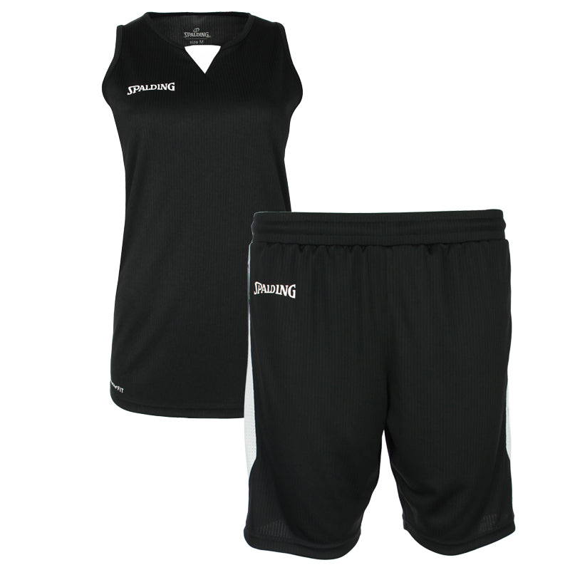 Teamwear - Spalding 4Her III Womens Kit - Black/White - SP-3002412-02-3005412-02