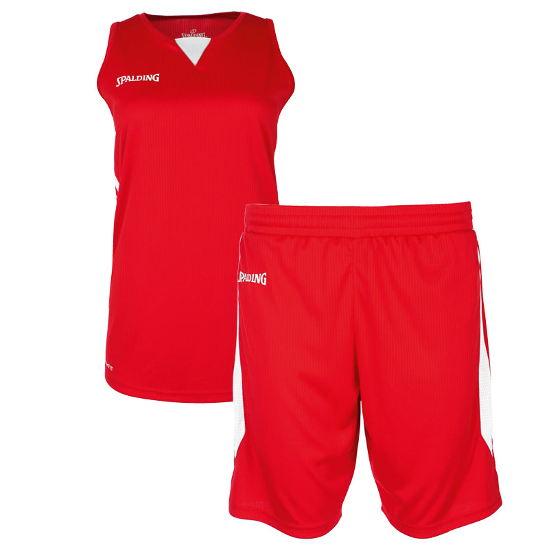 Teamwear - Spalding 4Her III Womens Kit - Red/White - SP-3002412-03-3005412-03