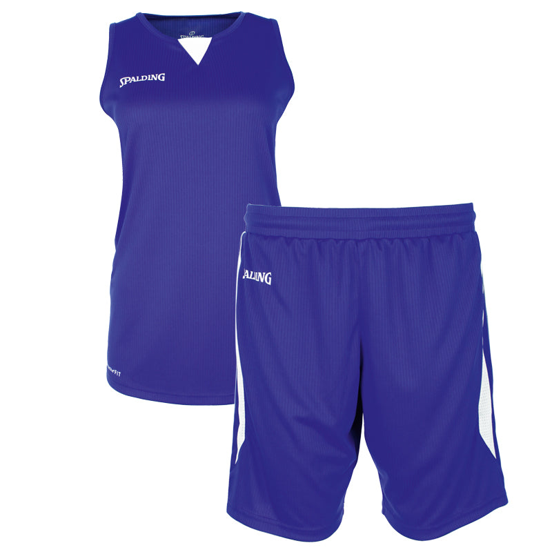 Teamwear - Spalding 4Her III Womens Kit - Royal Blue/White - SP-3002412-04-3005412-04