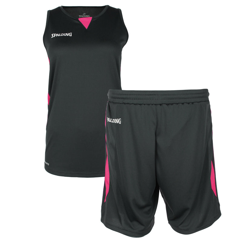 Teamwear - Spalding 4Her III Womens Kit - Anthra/Pink - SP-3002412-05-3005412-05