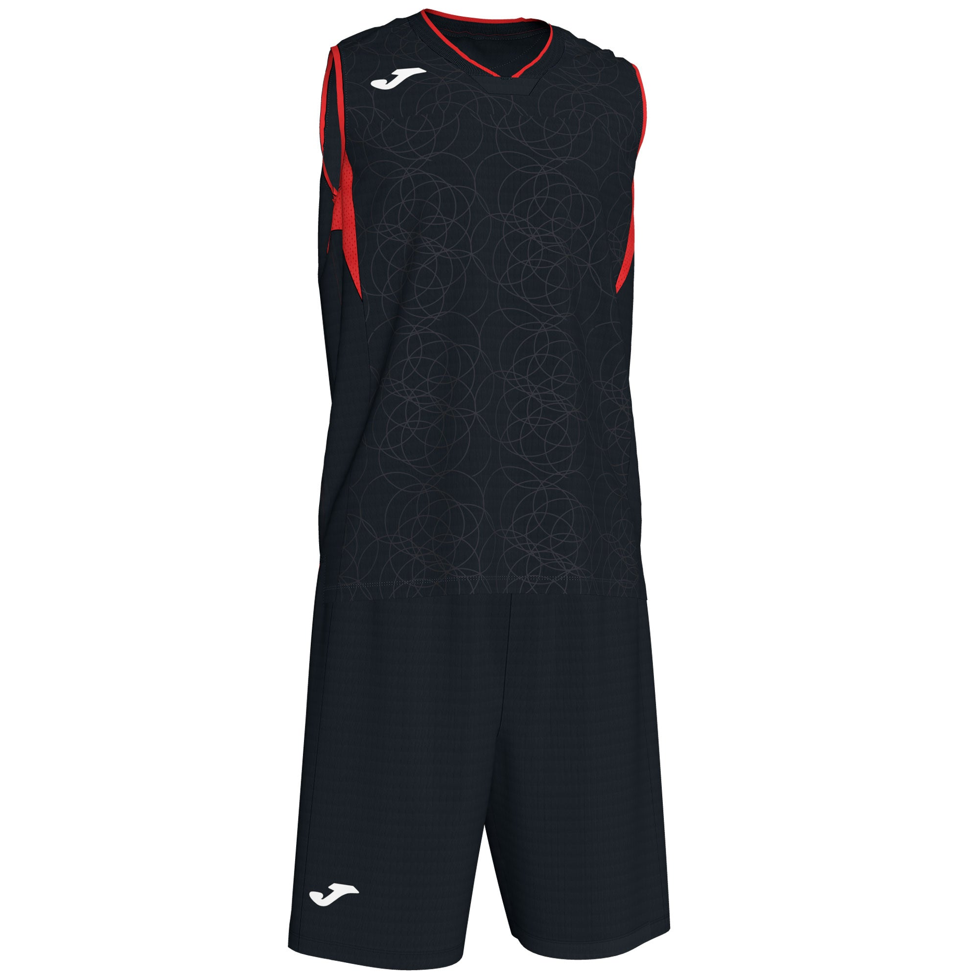 Teamwear - Joma Campus Kit - Black/Red - JO-101373-106