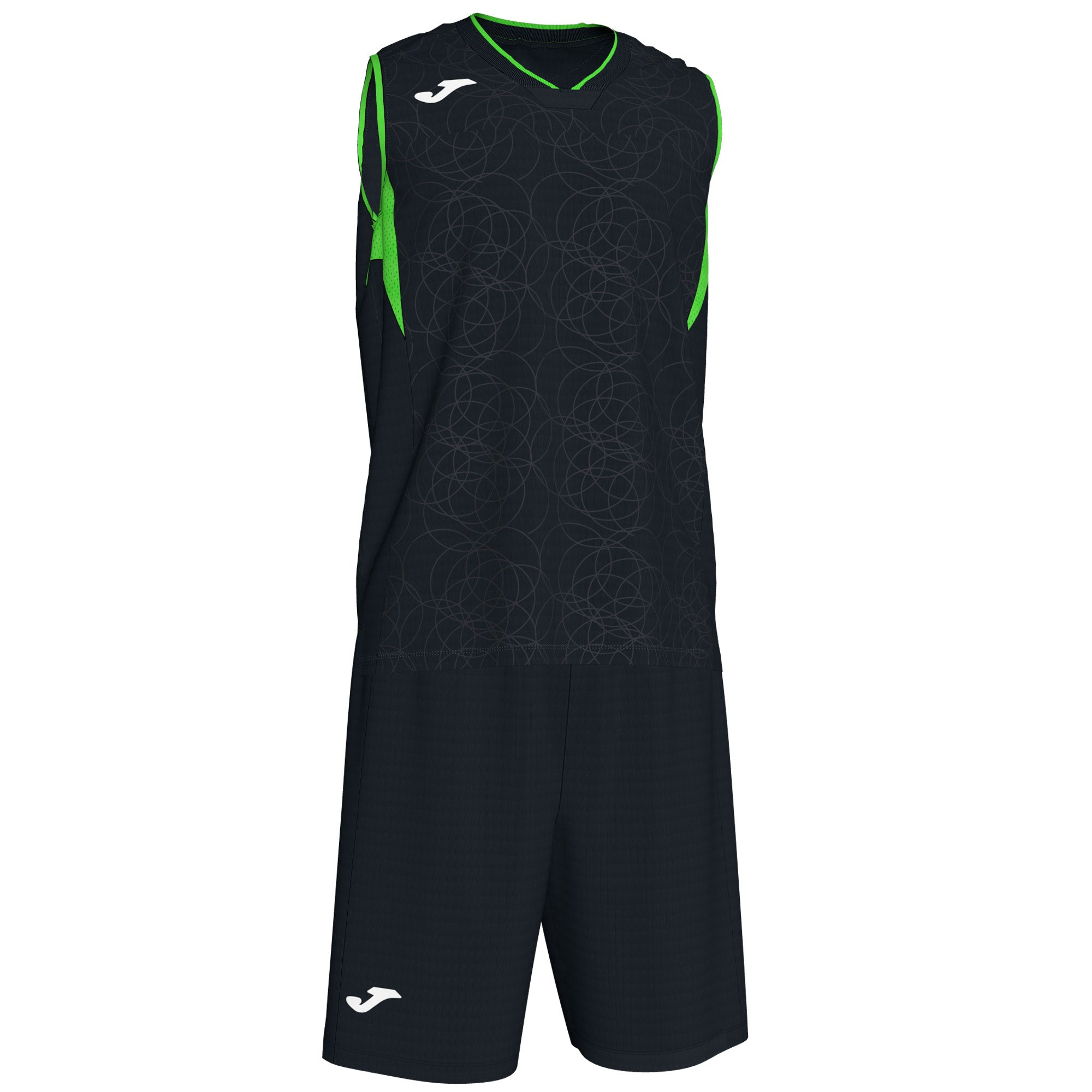 Teamwear - Joma Campus Kit - Black/Flour Green - JO-101373-117