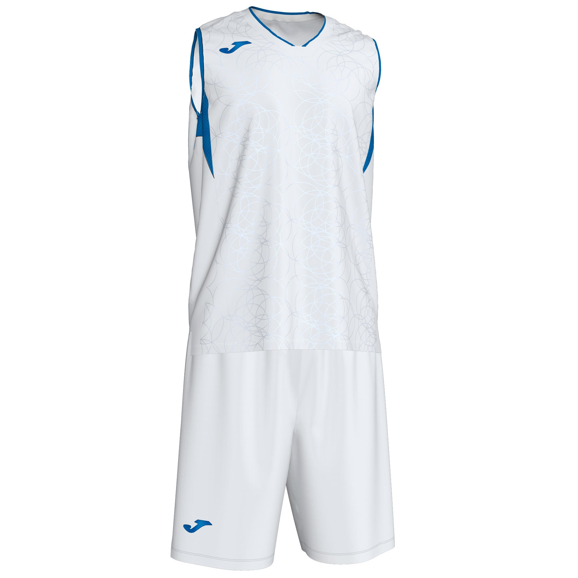 Teamwear - Joma Campus Kit - White/Royal Blue - JO-101373-207