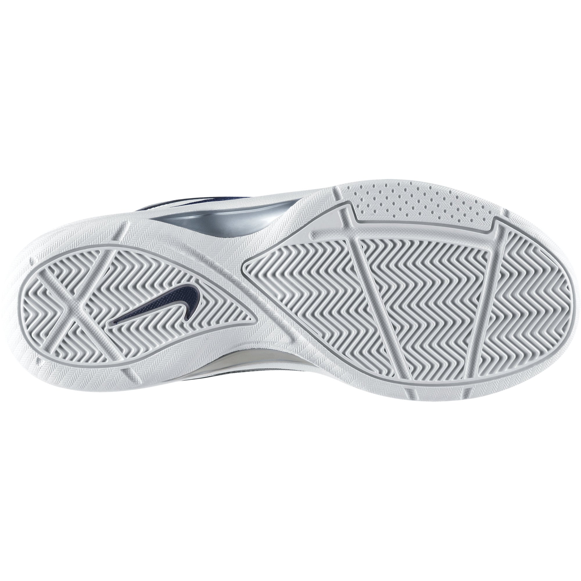 Nike Basketball Overplay VII - White/Silver/Navy