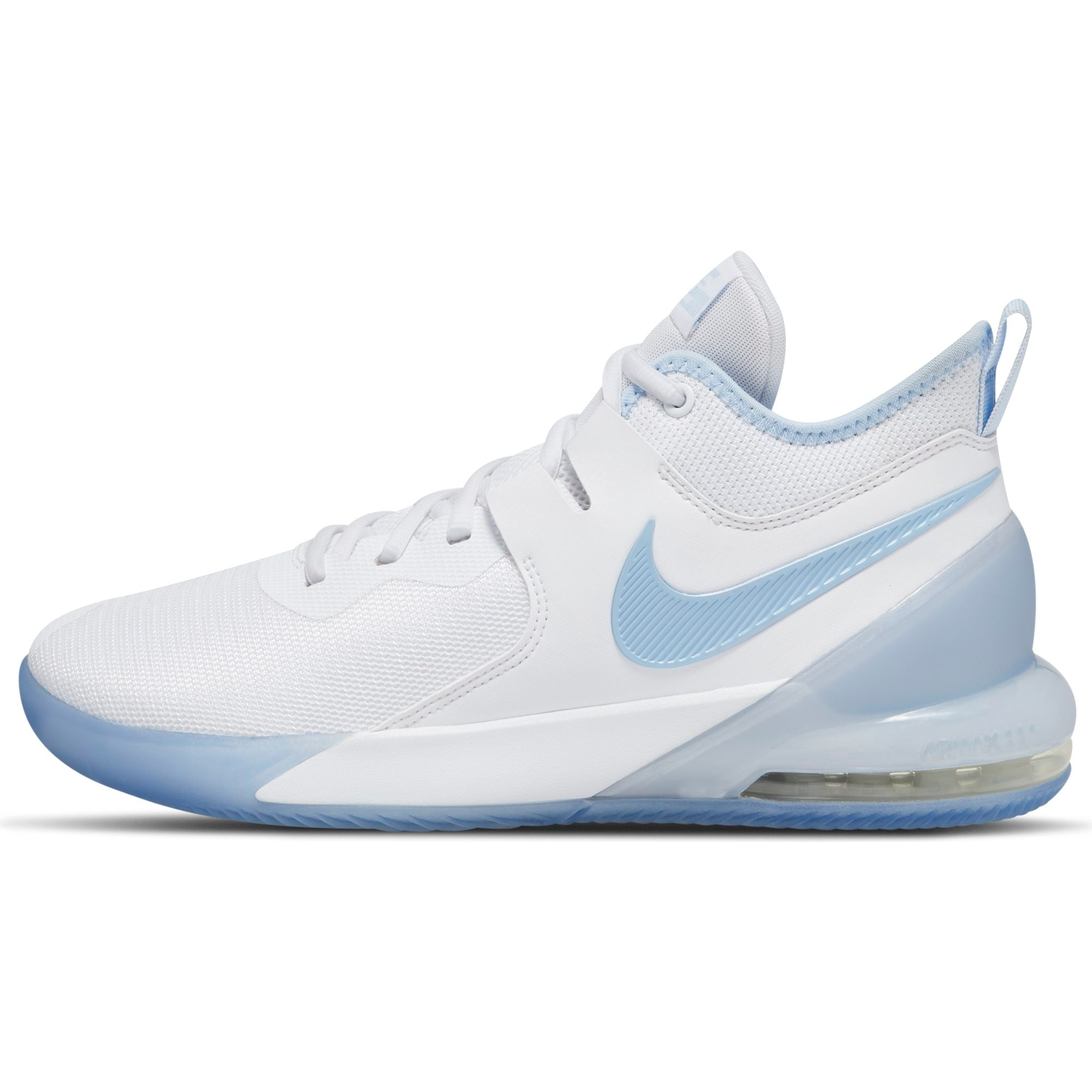Nike Basketball Air Max Impact Basketball Boot/Shoe - White/Royal Tint/Clear NK-CI1396-100