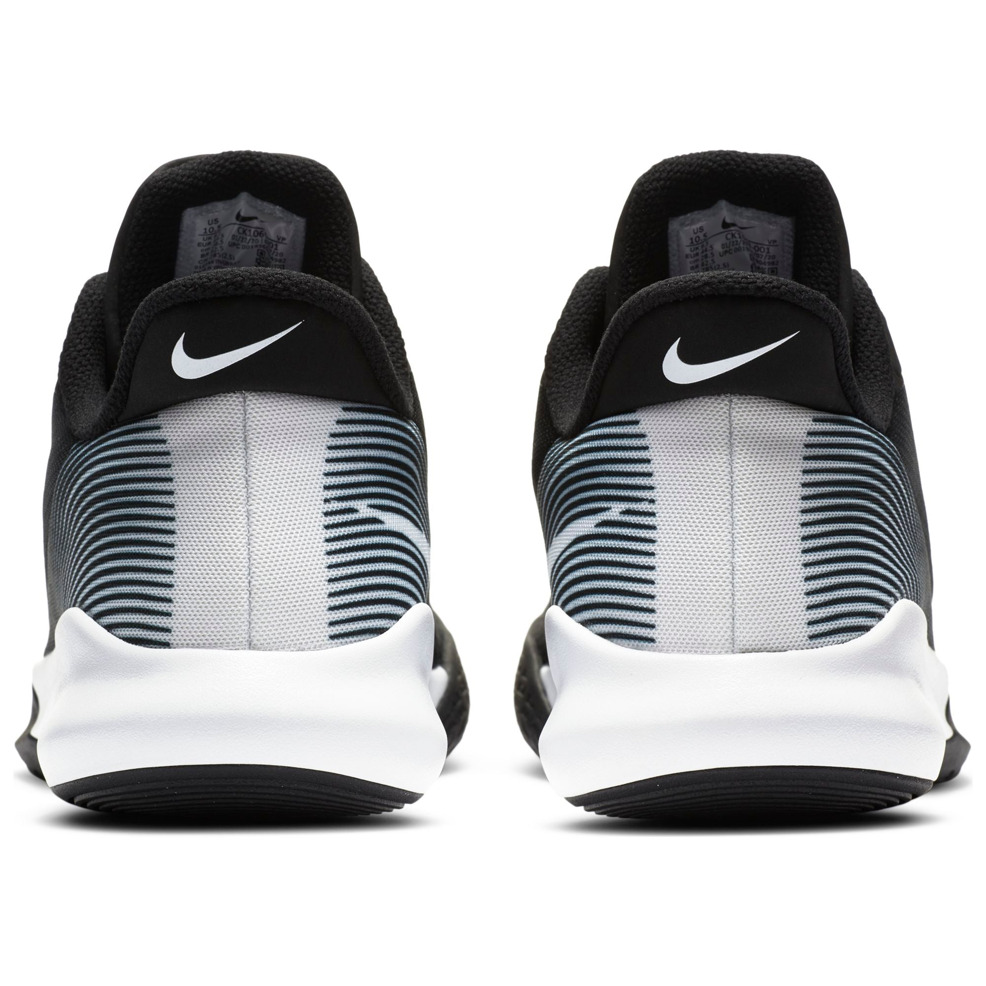 Nike Basketball Precision 4 Shoe - Black/White NK-CK1069-001